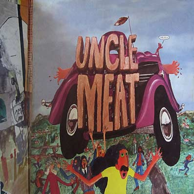 "Album ""Uncle Meat"" des Mothers of Invention"