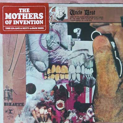 "Album ""Freak out"" des Mothers of Invention"