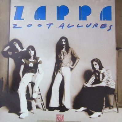 """Album """"Zoot Allures"""" de Frank Zappa"""