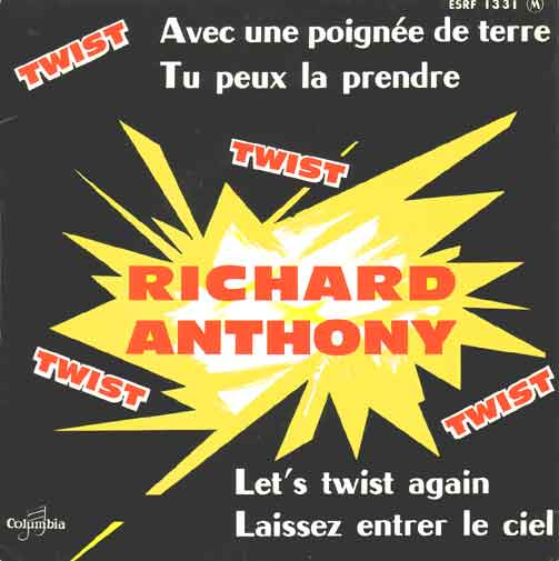 45 tours de Richard Anthony