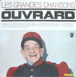 Pochettes de disques chanson fran aise des ann es soixante - Gaston ouvrard je ne suis pas bien portant ...