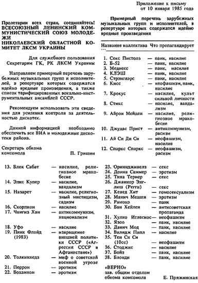 Archive du sexe soviétique