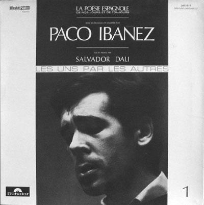 Paco Ibañez : la poésie espagnole n° 1