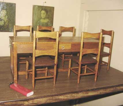 Table de salon (miniature)